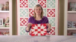 Sister's Choice Quilt Block Pattern - Classic & Vintage Series - Fat Quarter Shop