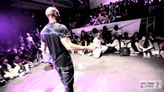 Juste Debout 2012 DJ Battle Yugson VS Renegade Amsterdam