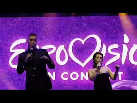 "Eurovision In Concert Amsterdam - Maxime & Franklin Brown ""De Eerste Keer"""