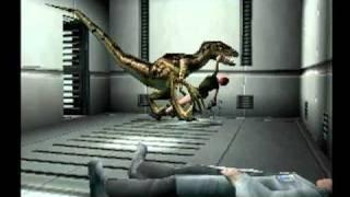 Dino Crisis 100% Completion Walkthrough 13/14 Death Scenes - 26 Possible Ways to Die!