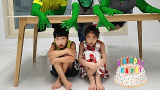 Happy Birthday 서은이의 생일파티 서프라이즈 공포 생일 케이크 선물 이야기 Seoeun's Birthday Party