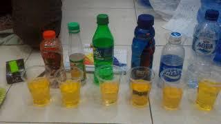 Demontrasi manfaat air kangen water