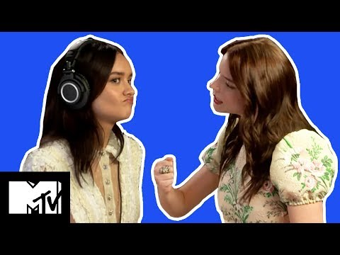 Olivia Cooke & Anya TaylorJoy Play The WHISPER CHALLENGE  MTV Movies