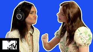Olivia Cooke & Anya Taylor-Joy Play The WHISPER CHALLENGE | MTV Movies