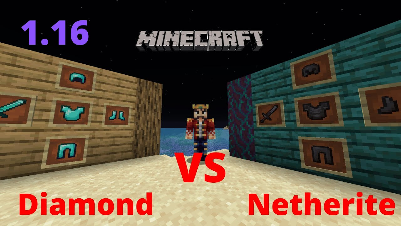 Minecraft netherite: effects and how to make netherite