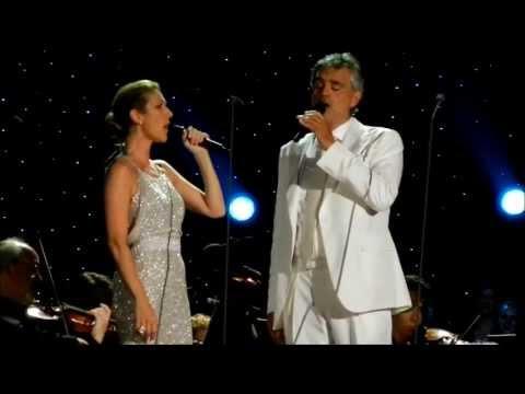 Celine Dion Central Park Céline Dion Andrea Bocelli New York Philharmonic 2014