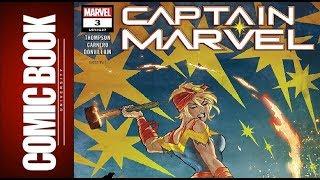 Captain Marvel #3 | COMIC BOOK UNIVERSITY