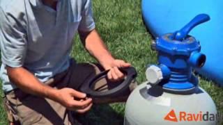 Pompe de filtration à sable pour piscine hors sol Intex