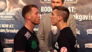 SCOTT CARDLE & CRAIG EVANS COME TO BLOWS @ HEATED FACE OFF / iFL TV