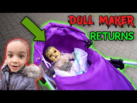 WHO IS THE DOLL MAKER PART 5 - EMILY IS BACK DOLLMAKER RETURNS  - COME PLAY WITH US