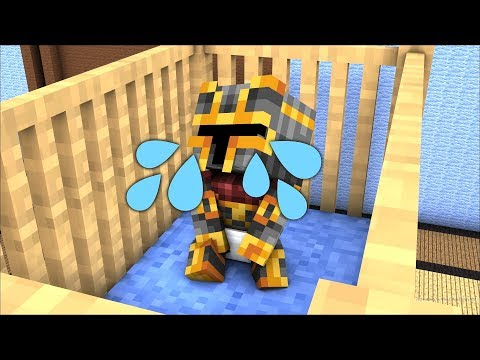 MINECRAFT BABY DAYCARE MC NAVEED MEETS FRIENDLY ZOMBIE MARK IN SCHOOL !! FNAF BABY MOBS !! Minecraft
