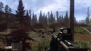 Escaping from Tarkov,...