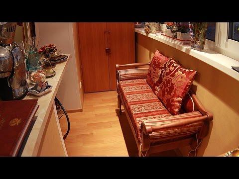 Максимус окна - совмещение балкона 6 метров с комнатой и кухней