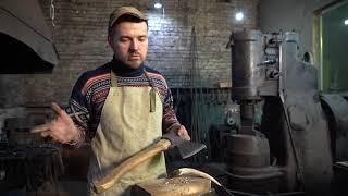 кованый топор, испытание, сталь у8а, https://vk.com/staraya_kuznya