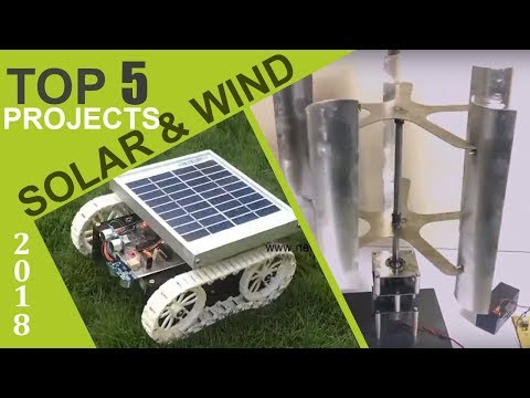 Top 5 Solar and Wind Energy Projects of 2018