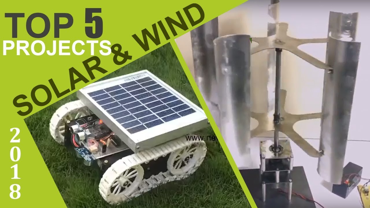 Top 5 solar and wind energy projects of 2018 youtube top 5 solar and wind energy projects of 2018 solutioingenieria Images