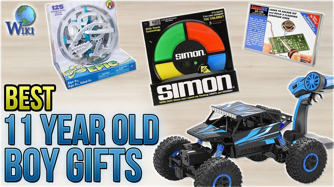 10 Best 11 Year Old Boy Gifts 2018 - YouTube