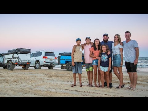 Patriot Campers X1 & X2 - 2018 WINNER Offroad Camper Trailer of the Year - Weekend at Fraser Island
