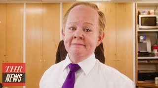 melissa mccarthy s sean spicer performs i feel pretty for snl promo   thr news