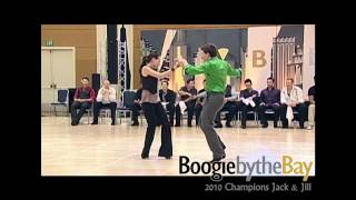 Brennar Goree & Jennifer DeLuca - 2010 Boogie by the Bay (BbB) - WCS Dance Champions Jack & Jill