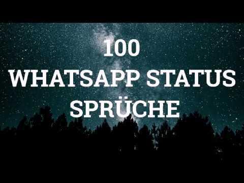 100 Whatsapp Status Sprüche Youtube