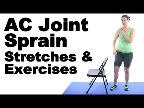 AC Joint Sprain Stretches & Exercises - Ask Doctor Jo