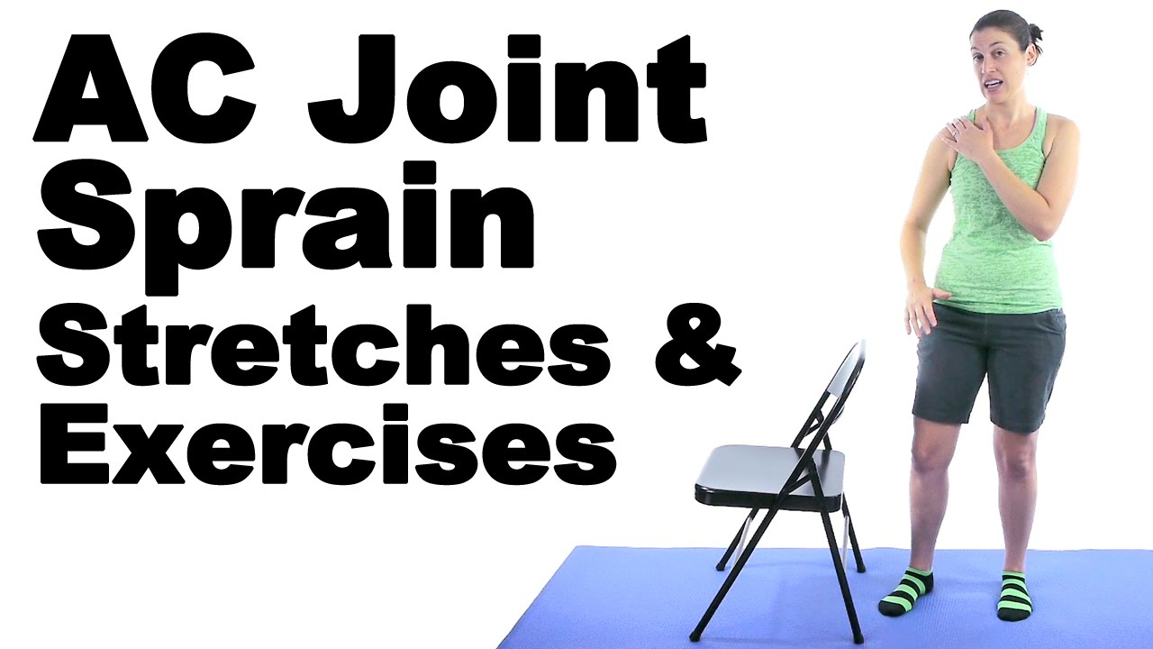 Ac Joint Sprain Stretches Exercises Ask Doctor Jo Youtube