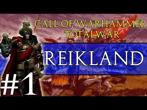 Call Of Warhammer: Total War - Principality of Reikland #1 ~ Beast Wars