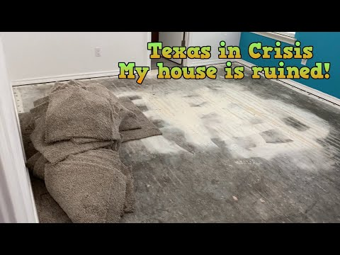 Texas in Crisis - My house is ruined!