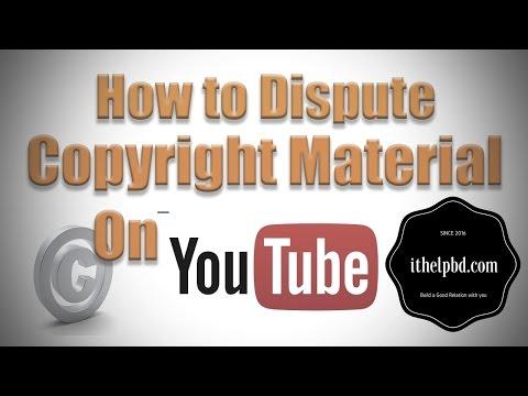 ভিডিও কপিরাইট ক্লেইম খেলে কি করবেন | How to Dispute Copyright Claims on YouTube full Bangla tutorial