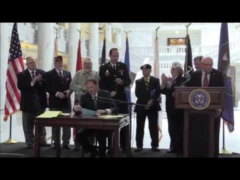 Gov. Herbert to sign veteran bills