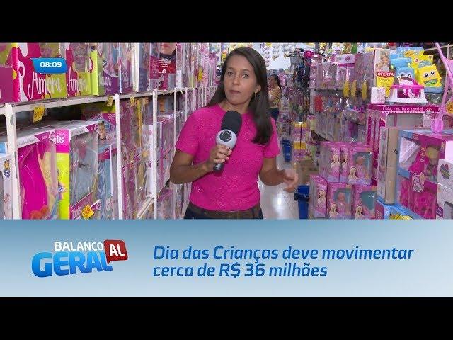 Dia das Crianças deve movimentar cerca de R$ 36 milhões em Alagoas