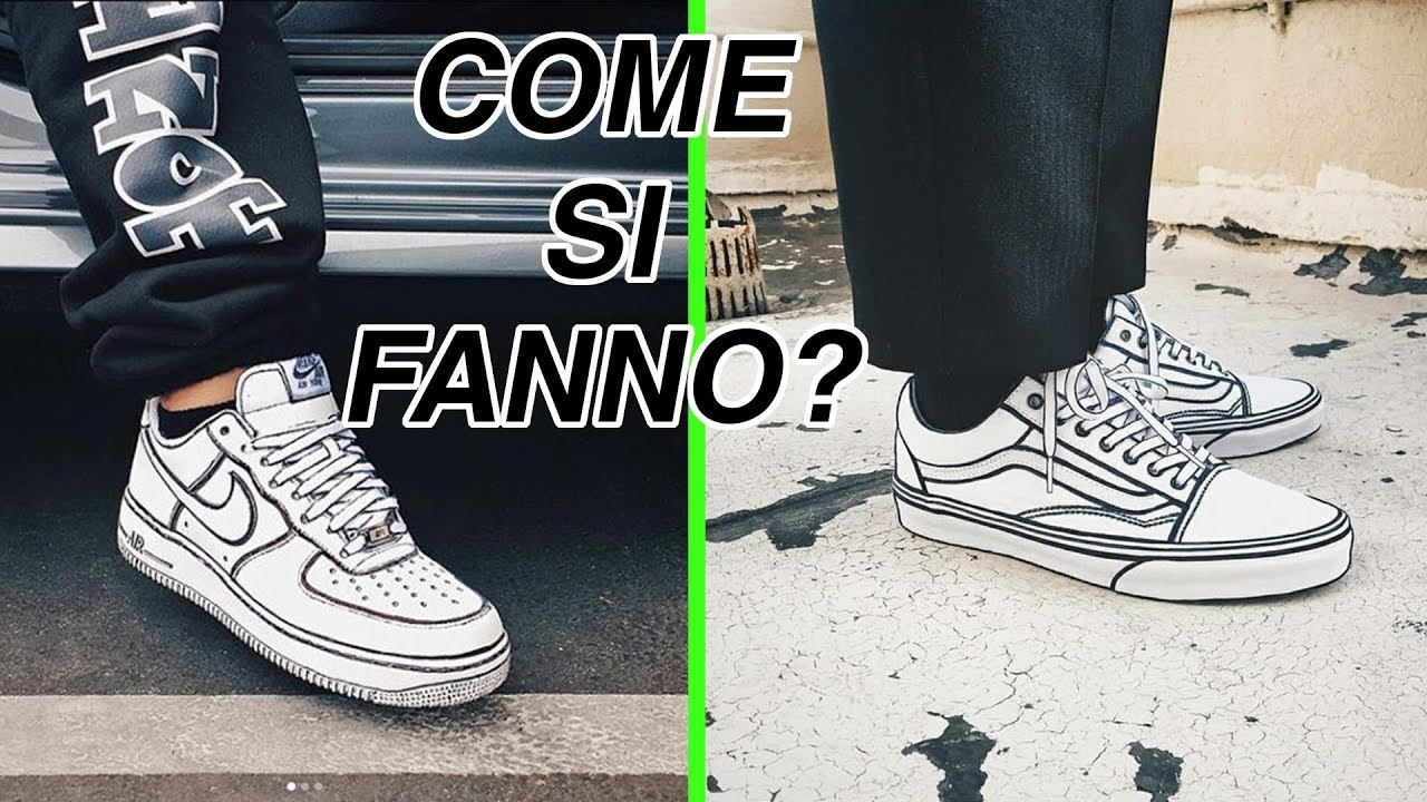 Come Colorare Le Scarpe scarpe sketch in 2d?? tutorial su come farle