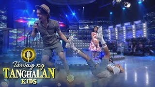 Tawag ng Tanghalan Kids: Vhong turns Vice into a rug