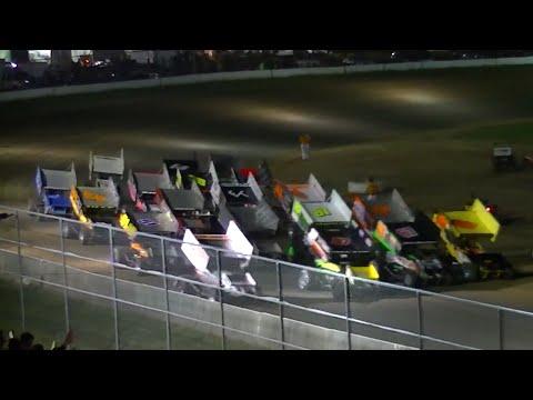 Patriot Sprint Feature | McKean County Raceway | 8-30-14