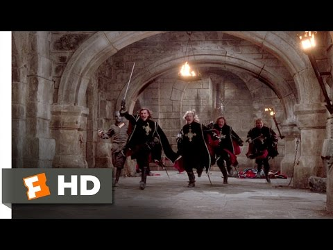The Man in the Iron Mask (11/12) Movie CLIP - All For One (1998) HD