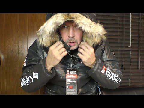 Теплая Куртка для Экстремальных Условий Длинная Парка Columbia Titanium Diamond Extreme OutDry 2019