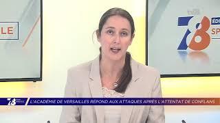 Yvelines | L'académie de Versailles répond aux attaques après l'attentat de Conflans