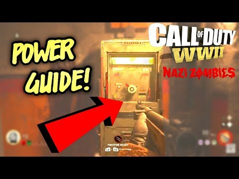 THE FINAL REICH POWER GUIDE! - How To Open All Doors on WW2 Zombies Full Tutorial