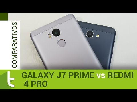 Comparativo: Galaxy J7 Prime vs Redmi 4 Pro | Review do TudoCelular