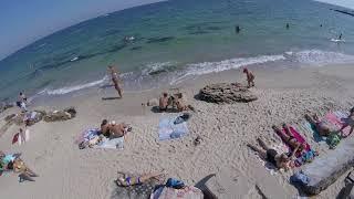 видео Пляж Золотой Берег в Одессе