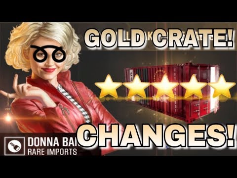 GOLD CRATES CHANGES ARE COMING! | CSR Racing 2