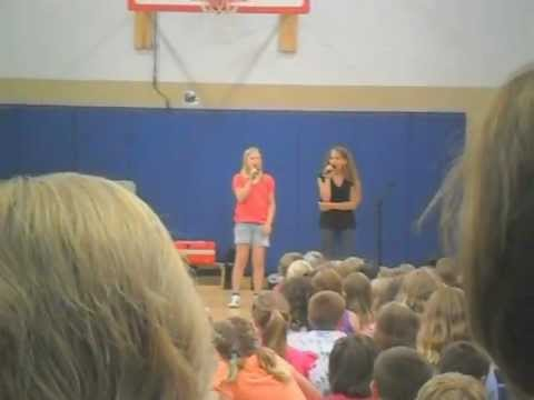 Jamestown Elementary talent show