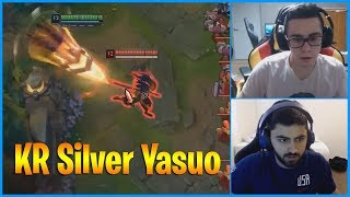 tF Blade Shows How Good KR Silver Yasuo Is...LoL Daily Moments Ep 851
