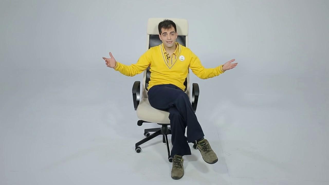 Instrucciones de montaje de la silla giratoria MARKUS - IKEA - YouTube
