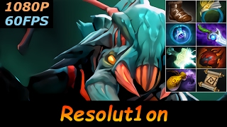 dota 2 dc resolut1on weaver pro top mmr 842 gpm ranked full gameplay