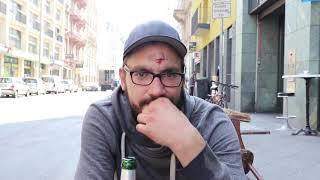 Chris, 32, heroinabhängig und obdachlos im Frankfurter Bahnhofsviertel