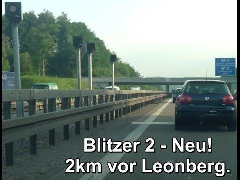 A8 Stuttgart Leonberg neue Blitzer, sind jetzt vier. Update Mai 2014