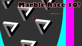 Algodoo Marble Race 10 KP's Marble Madness by Kinder Playtime
