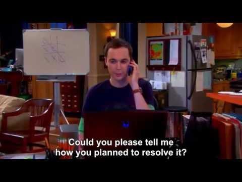 The Big Bang Theory - Sheldon Vs SyFy Channel--Subtitled